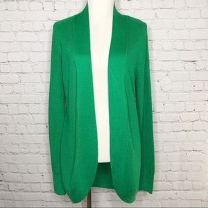 A New Day Green Cocoon Cardigan NWT Large
